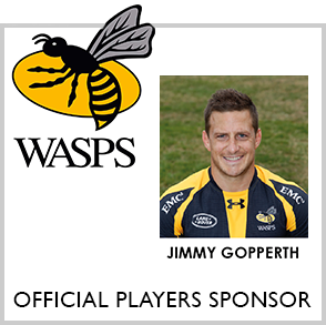 Wasps RFC Official Players Sponser